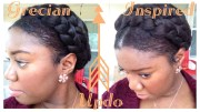 greek goddess crown braid tutorial