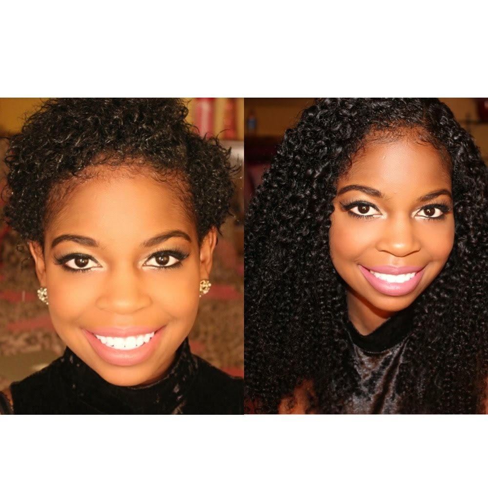 How To Clip In Extensions On A Twa Video Black Hair Information