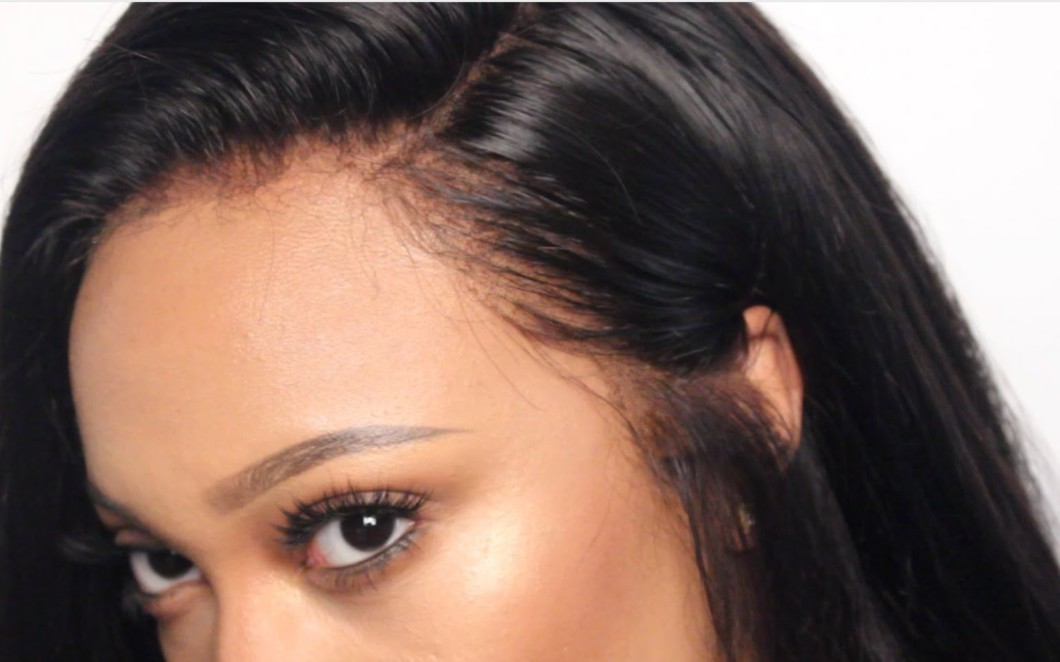 HOW TO CUSTOMIZE YOUR LACE FRONTAL Video  Black Hair