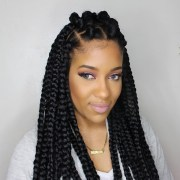 jumbo box braids rubberband