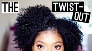 natural hair twist- tutorial