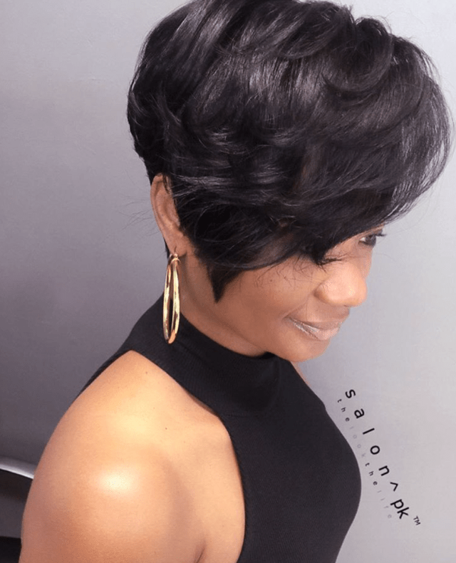 Gorgeous cut  by salonpk Black  Hair Information