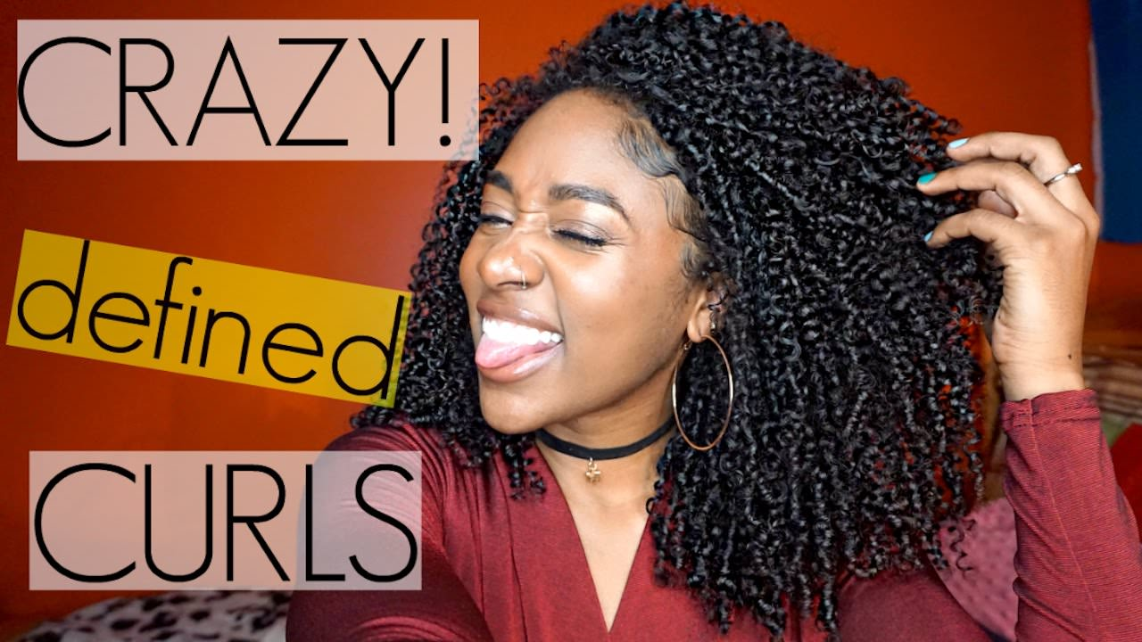 Shingling Method for Crazy Defined Curls Natural Hair Video  Black Hair Information