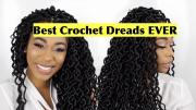 crochet dreads video - black