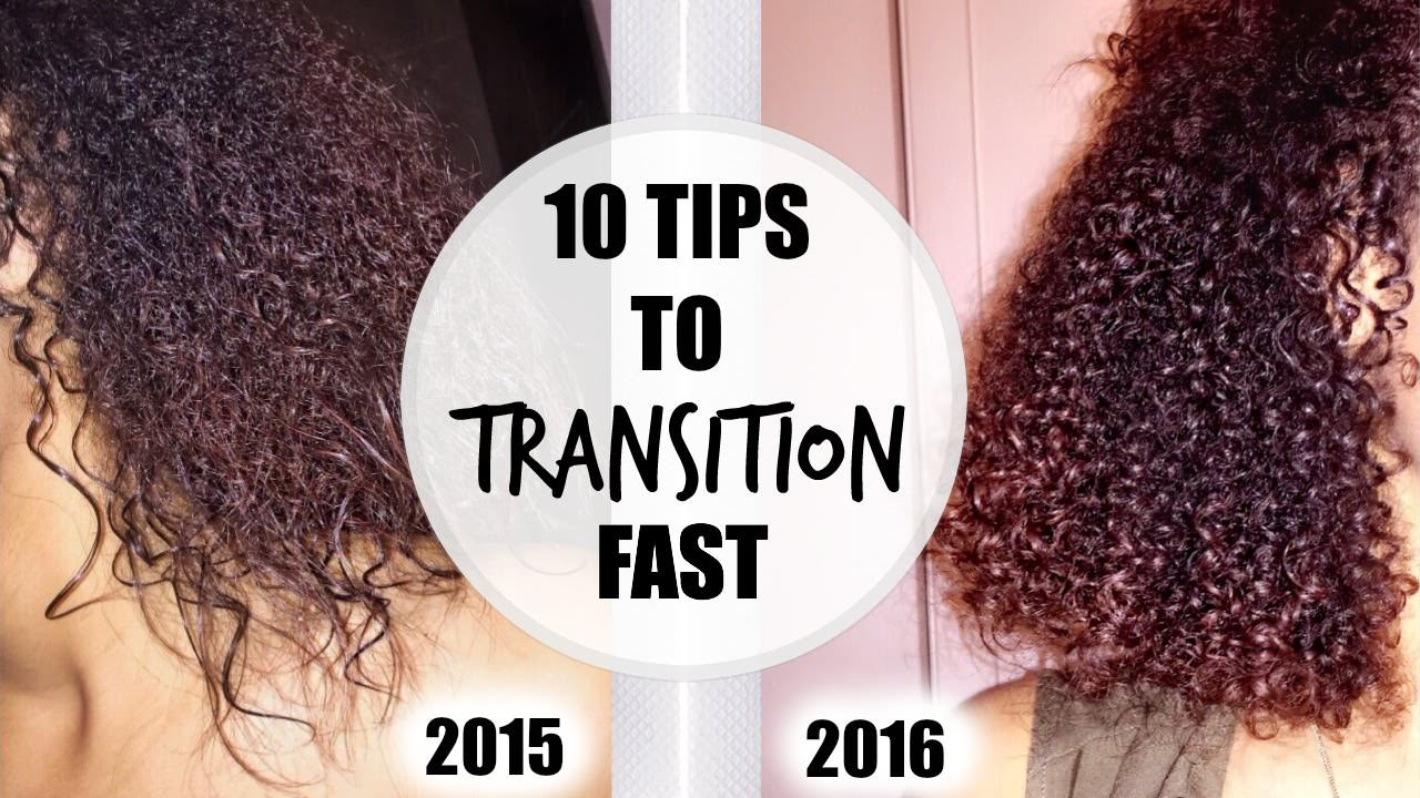 Top 10 Tips For Transitioning To Natural Hair Video