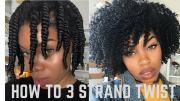3 strand twist detailed