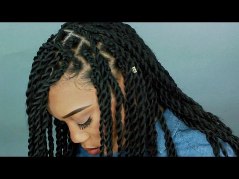 HOW TO CHUNKY SENEGALESE TWIST Video  Black Hair