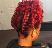 nice updo thehairqueen - black