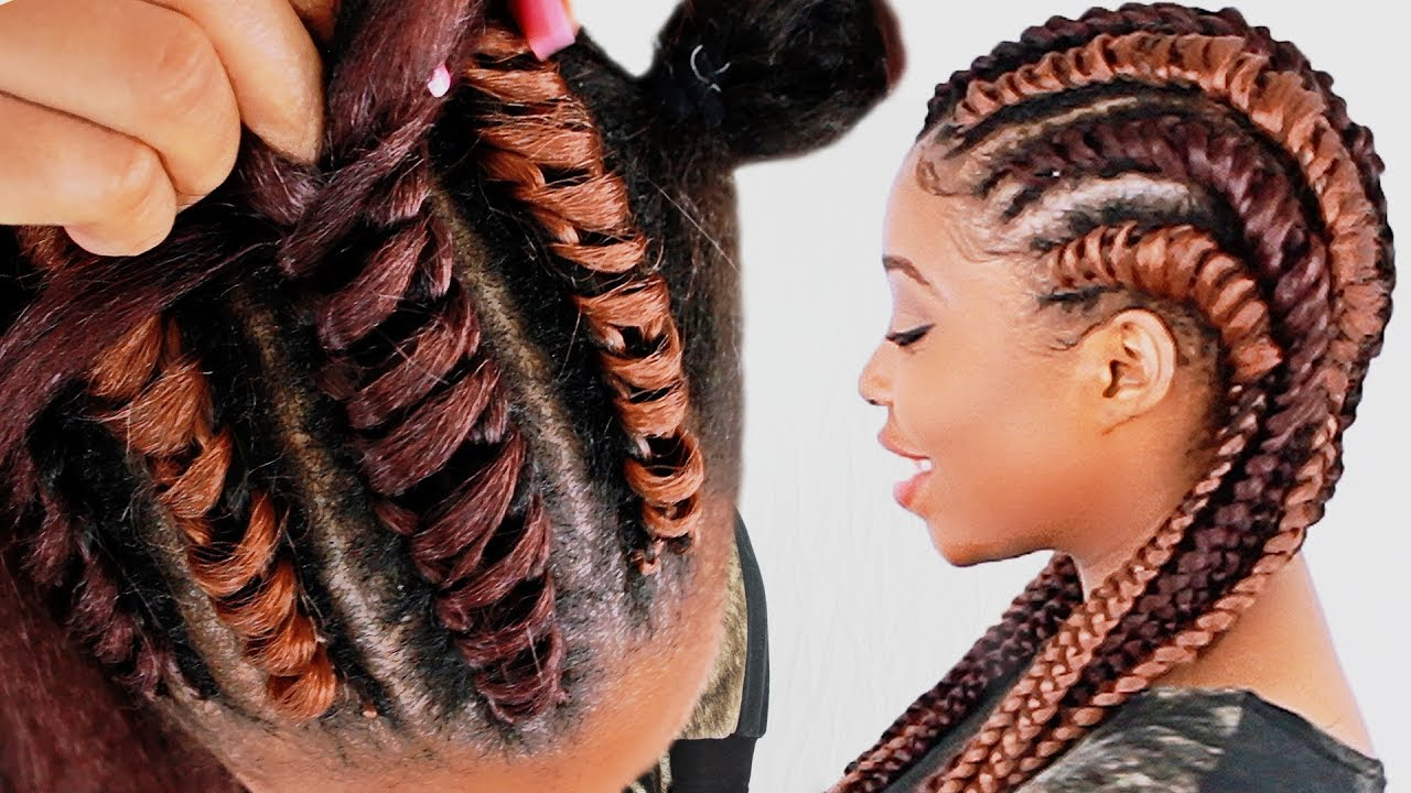 How To Tree Braid Cornrows FOR BEGINNERS Step By Step