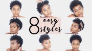 4c natural hairstyles - 8 easy
