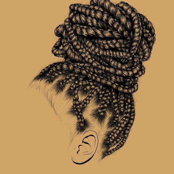 Natural Hair Art Gaksdesign - Black Information
