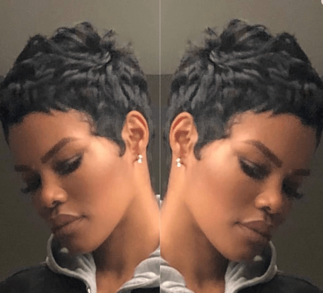 short cut slay @teyanataylor - black hair information