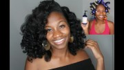 flexi rods dry natural hair