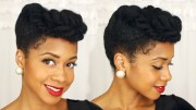 easy elegant updo natural hair