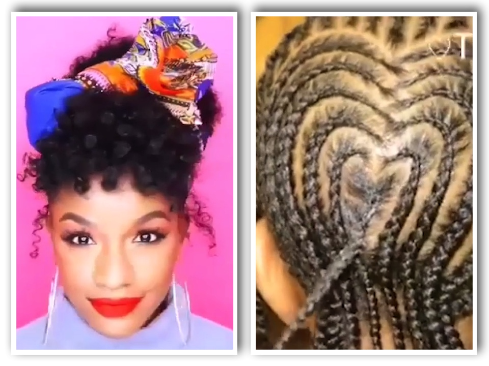 Hairstyle Compilation For Black Women And Kids Natural Hair
