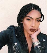 medium length box braids blackhairstylez