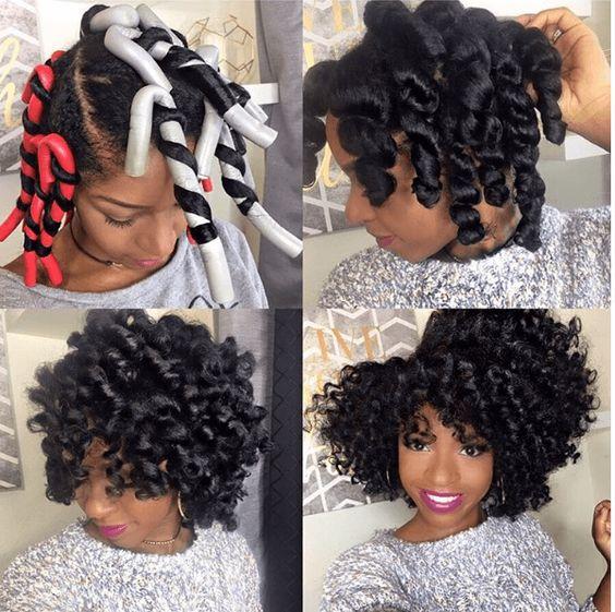 35 Gorgeous Natural Hairstyles For Medium Length Hair