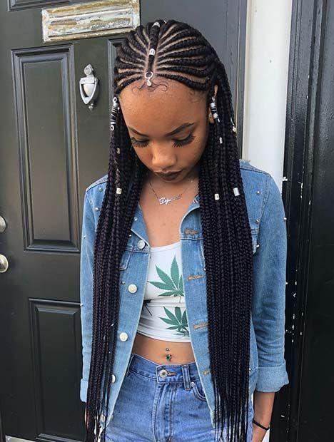 35 Tribal Braids Hairstyles