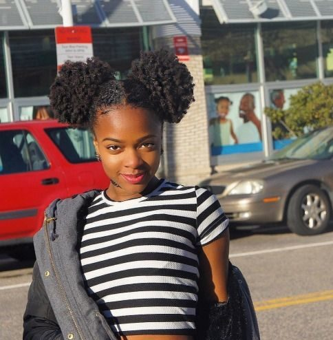 35 Quick Natural Hairstyles For Short Natural Hair