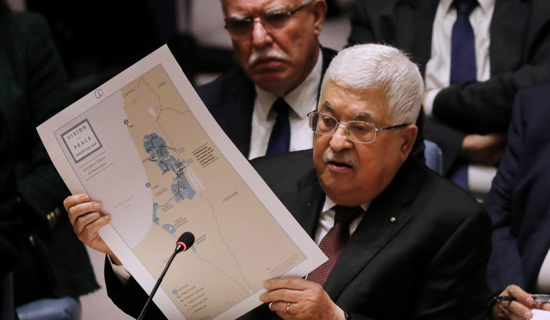 Palestine cancels all agreements with settler states