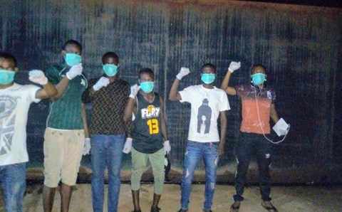Black Hammer Nigeria chapter on the move to deliver PPE to poor and working class Africans