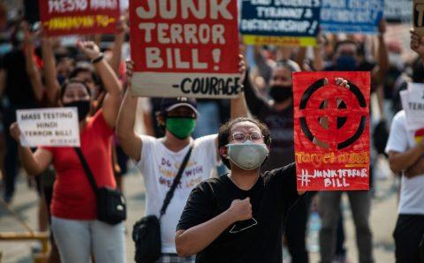Junk Duterte's Terror Law