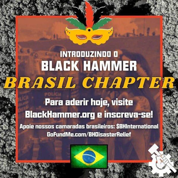 flier for black hammer brazil