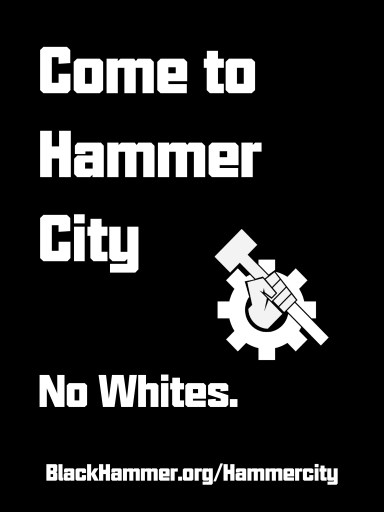 come to hammer city - no whites