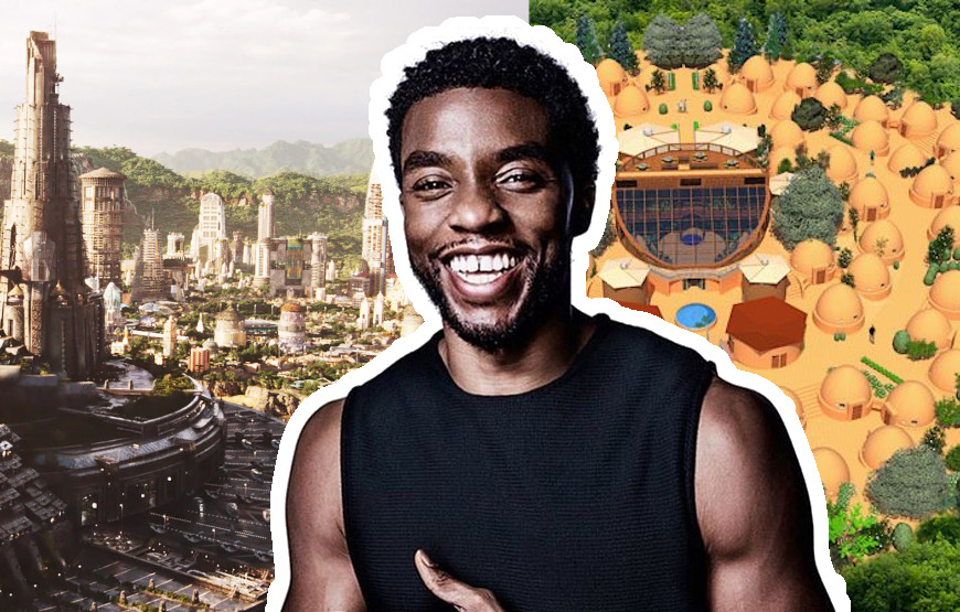 Wakanda is fake but Hammer City is real: #RIPChadwick