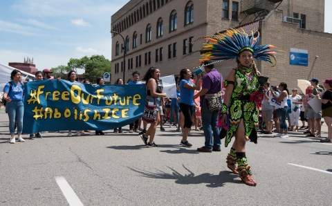 The Police and ICE fight about how best to colonize Indigenous people