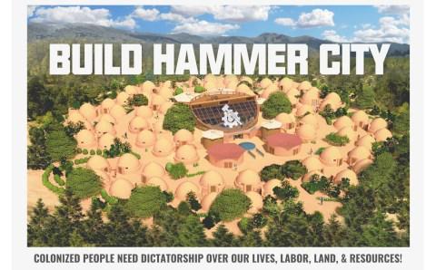 Black Hammer drafts Hammer City founding Constitution