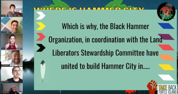 land liberators revealing location of hammer city