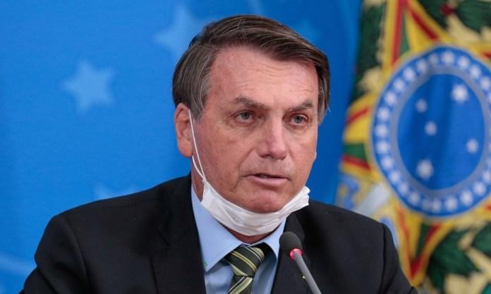 bolsonaro not wearing mask