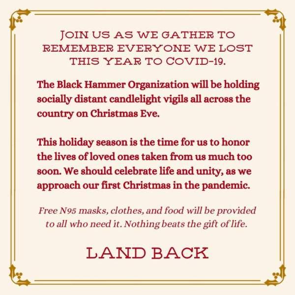Christmas Eve Vigil Flyer