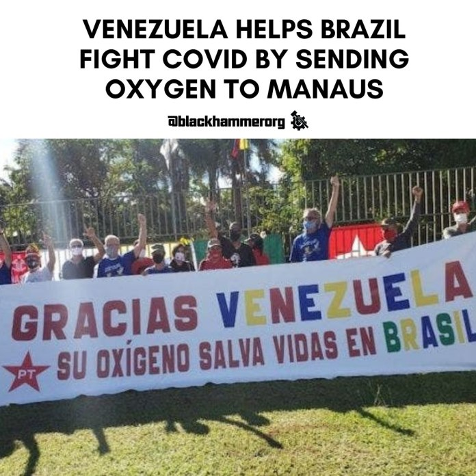 Venezuela shows unity w Brazil SM cover image