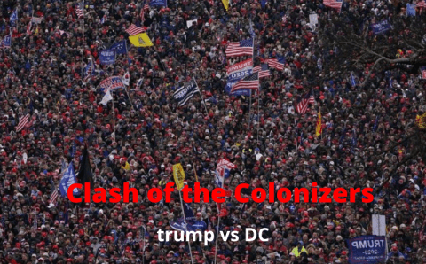 Play Dat Back: CLASH OF THE COLONIZERS (TRUMP VS DC)
