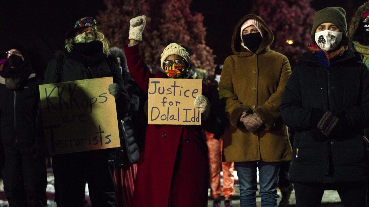 Justice for Dolal Idd, the last person u.s. pigs killed in 2020!