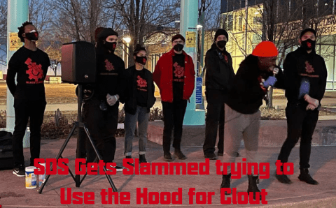 Clash in Colorado: SDS Crakkkas, pay Reparations, and Go Back to Europe!