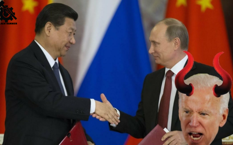 Cold War Tension in amerikkka Heightens as China and Russia Collaborate