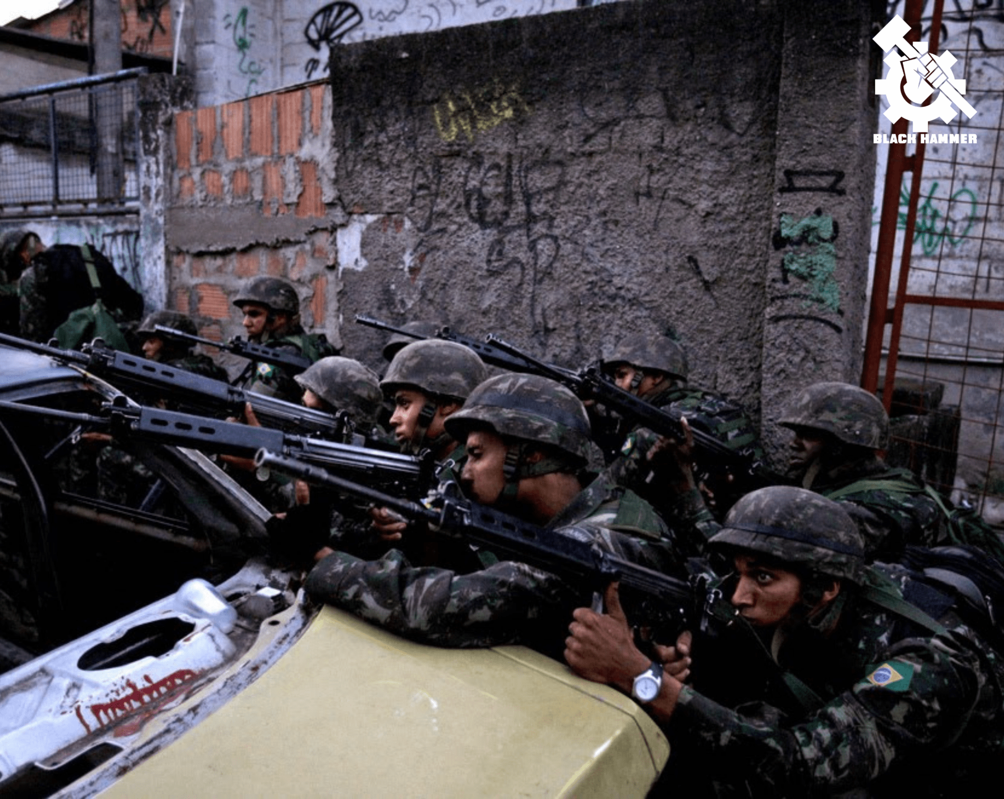 Pigs In Brazil Massacre Over 25 People To Benefit White Power