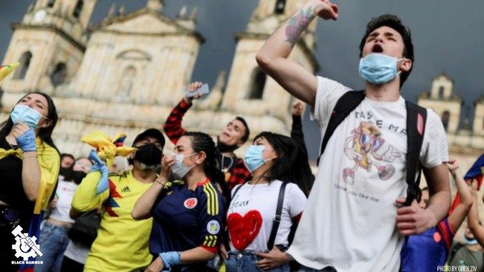 La juventud tiene alta participación en estas protestas, llevando a cabo la lucha compartida por sus antepasados antes que ellos.