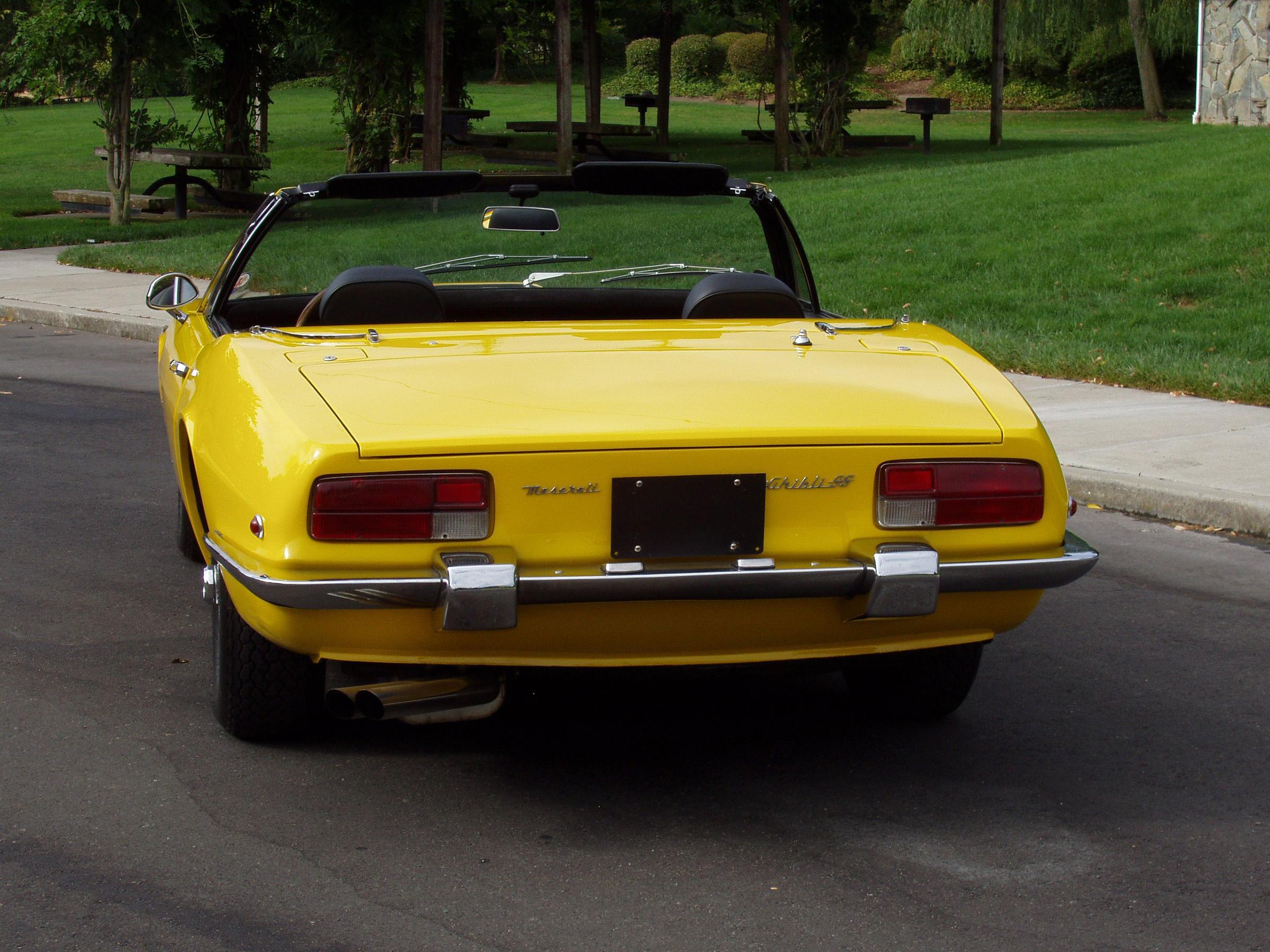1971 Maserati Ghibli SS 4.9 Spyder   Blackhawk Collection
