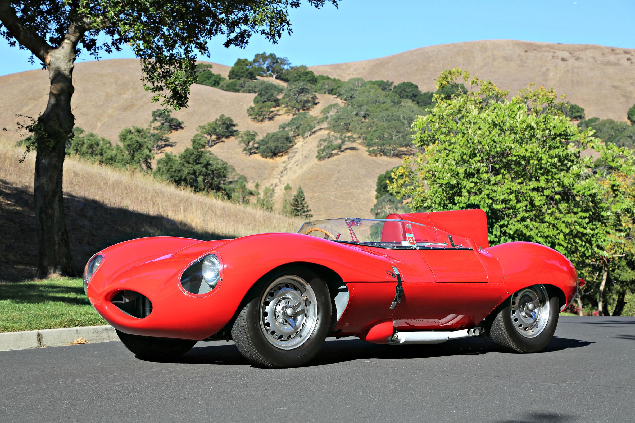 1956 Jaguar D-Type XKD 518 | Blackhawk Collection