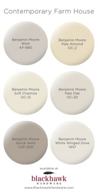Paint Colors for Modern Farm House Interior Design ...