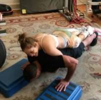 Watch: Jennifer Lopez And Alex Rodriguez Drop A Couples Workout Video! (Video)