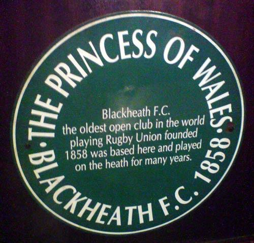 Prince of Wales pub plaque 2