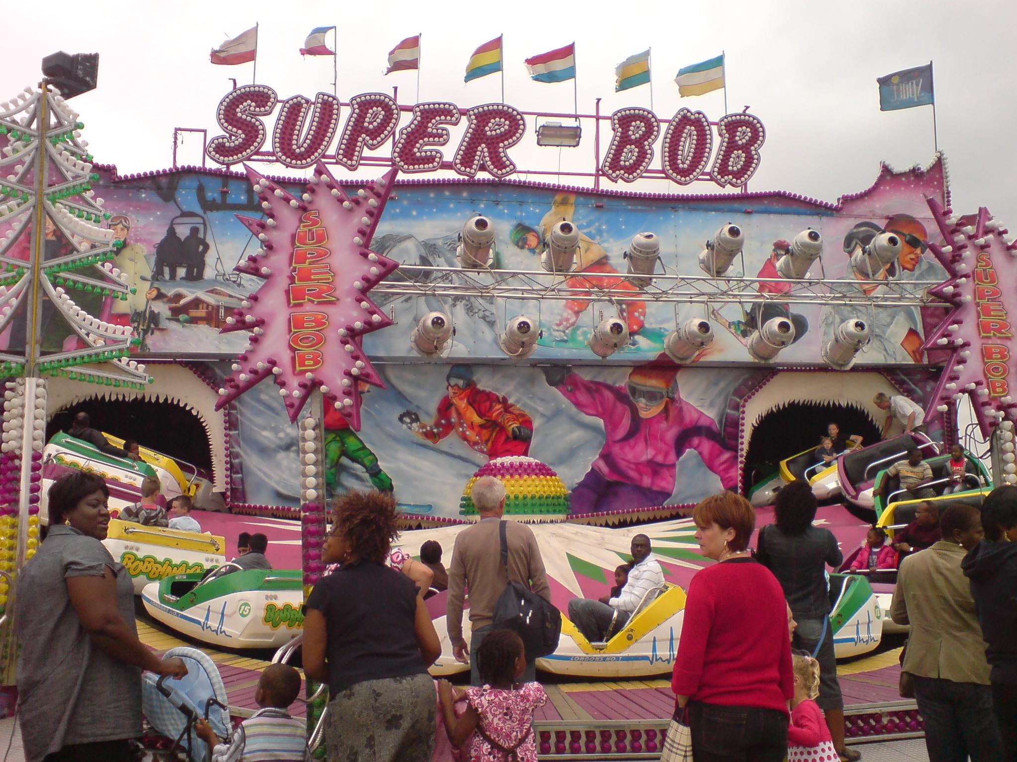 Blackheath Fun Fair near Greenwich Park