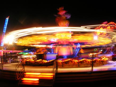 Blackheath Funfair fairground ride by Emma Webb
