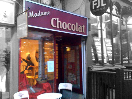 Madame Chocolat in Blackheath