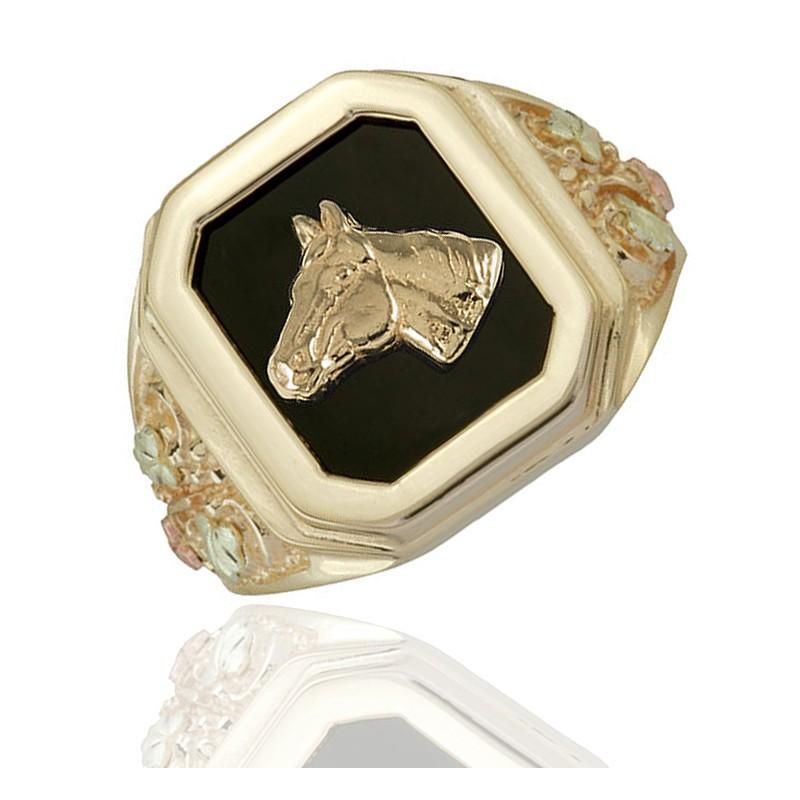 Ring Gold Onyx